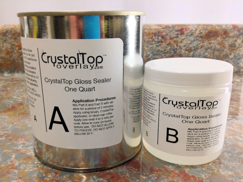 CrystalTop Gloss Sealer - One Quart